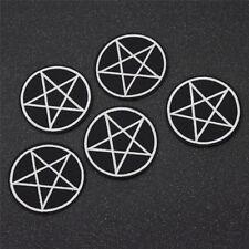 5pcs Pentagram Gothic Applique Sew Iron on Patch Clothes Hat Patches DIY Decor