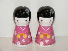 Geisha Girls Salt And Pepper Shakers Collectable