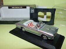 PONTIAC GTO 1966 Gris  NEW RAY