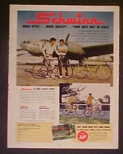 1972 Schwinn Varsity~Orange Krate~Manta~Ray Bicycles Boys Bike Paper Promo AD