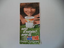 advertising Pubblicità 1981 FERRERO ESTATHE' ESTA THE'