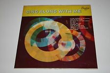 """""""Sing Along With Me"""" LP Broadway Records LP-1025 VG/VG"""