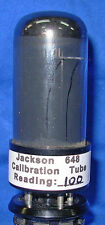 Calibration Tube and Instructions for Jackson 648 Tube Tester Family
