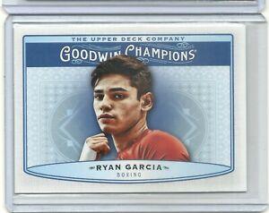 Ryan Garcia 2019 Upper Deck Goodwin Champions Boxing Blue Rookie Card # 54 L@@K