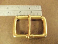 "2"" Solid Brass End Bar Roller Buckle (Pack Of 2)"