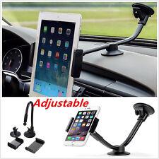 Long Arm Car Phone Tablet Mount Holder Windshield 5'' 7'' Holder for iPhone Htc