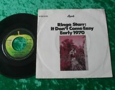 """Single 7"""" Ringo Starr - It don't come easy"""