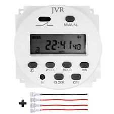 12v Timer Switch Programmable Digital 12 Volt Dcacsolar Battery Powered