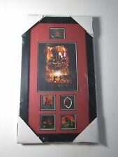 2005 STAR WARS DARTH VADER PIN COLLECTION MATTED FRAMED 5 PINS LIMITED EDITION