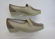 Sandpiper Ladies Shoes Ida Stone/Beige UK Size8  (GO)