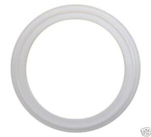 """TRI CLAMP SANITARY GASKETS 2"""" WHITE PTFE LOT OF 10"""