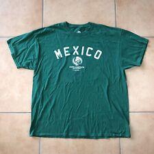 MEXICO Copa America Centenario USA 2016 Men's Shirt Green Short Sleeve Sz 2XL