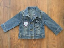 K. Baby Girls Age 12 - 18 Months 1 - 1.5 Years Denim Jacket SUMMER PARTY CASUAL