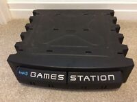 PlayStation Storage Unit Logic3 Games Station PS1 One Black Console Controllers