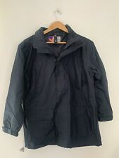 Girls Raincoat Winter Bottom 13/14 Years Blue Polyester Casual <JS3858