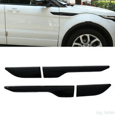 2* Black Air Wing Vent Trim Covers for Land Rover Range Rover Evoque 2012-2016