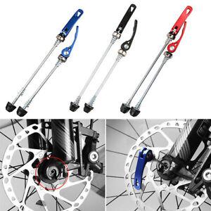 1 Paar Fahrrad Schnellspanner vorne hinten für MTB Rennrad Spießhebelsatz 15/18