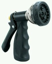 GARDEN HOSE SPRAY NOZZLE -NEW Orbit  7-Pattern Metal Turret Hose Spray Nozzle