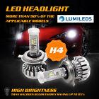 PHILIPS 180W 18000LM H4 9003 HB2 LED Headlight Kit Bulbs Hi/Lo Beam 6500K Canbus