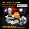 PHILIPS 150W 15000LM H4 9003 HB2 LED Headlight Kit Bulbs Hi/Lo Beam 6000K Canbus