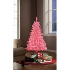 Tinsel Decorated Artificial Christmas Trees For Sale Ebay