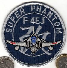 Super Phantom Navy Air Force Japanese Patch Japan Fighter Jet F-4EJ xwzf