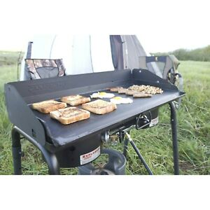 Camp Chef Professional Heavy Duty Steel Deluxe Griddle Built In Grease Drain