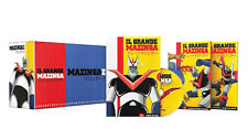37 Dvd Cofanetto +Poster IL GRANDE MAZINGA + MAZINGA Z di Go Nagai 100% completa