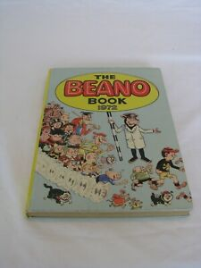 """Vintage Hardback """"The Beano Book 1972"""" Almost mint condition"""