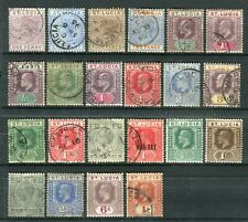St Lucia QV-KGV. Selection of Mint & Used stamps.