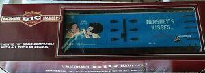Bachmann Big Hauler G Scale Hershey's Kisses Billboard Reefer Train Freight Car