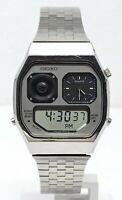 Orologio Seiko H239-5020 watch seiko robot face ana digi ultra rare clock japan
