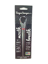 Tongue Sweeper Model P - Stainless Tongue Cleaner/ Tongue Scraper COLORS VARY