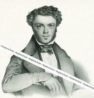 Franz von Kobell als Professor - München - Nach einem Gemälde - um 1930