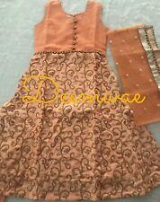 Mädchen Indianer Kleid/Dress Anzug Größe 28