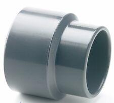 Riduzione PVC Socket Plain RACCORDO TUBO 20mm x 15mm RIDUTTORE Koi Pond # 37b276