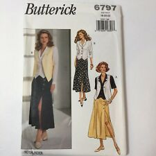 Butterick Sewing Pattern 6797 OOP Dog Cat Pet Beds Raincoat Stocking Placemat