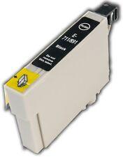 1 Black T0711 non-OEM Ink Cartridge For Epson Stylus SX515W SX600FW SX610FW