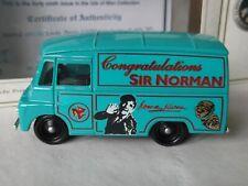 Lledo SP71, Morris LD150 Van, Congratulations Sir Norman Wisdom OBE, Isle of Man