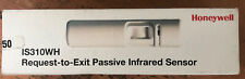 Honeywell IS310WH Request-to-Exit Passive Infrared Sensor NEW