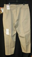 NEW W/ TAGS~WOMEN'S; DICKIES-WORKWEAR EASY CARE PANTS. KHAKI. PLEATED. SIZE 20P