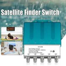 More details for ds-04m 4x1 diseqc 4 in 1 with rain cover switch satellite lnbf dish multiswitch