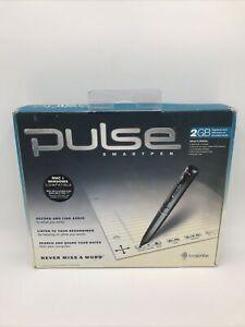 Pulse Digital SmartPen Livescribe 2G USB Students Never Miss A Word