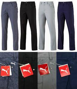 "Puma Golf 6 Pocket Performance Golf Trousers - RRP£65 - ALL Sizes 34"" Long Leg"
