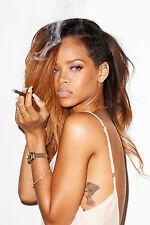 Rihanna a4 260gsm Poster Stampa