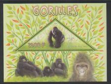 Congo - 2014, 1200f Gorillas sheet - MNH