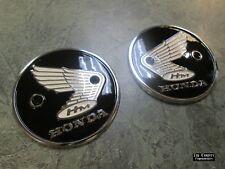 67-69 Honda Cl90 Scrambler 90 OEM Left Right Fuel Tank Emblems Badges