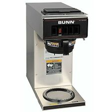 Bunn Commercial Coffee Maker Vp17-1 Pourover Stainless Steel- 1 Warmer - 13300-0