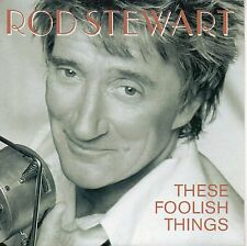 "ROD STEWART ""THESE FOOLISH THINGS"" ULTRA RARE SPANISH PROMOTIONAL CD SINGLE NEW!"