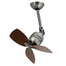 "aireRyder ceiling fan Toledo Antique Pewter 46 cm 19"" with wall speed controller"